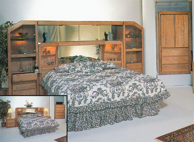 Waterbed Marathon 72 Quot Wall Unit Only Or With Waterbed Q
